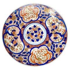 Antique Japanese Imari Porcelain Plate #7 Circa 1890's