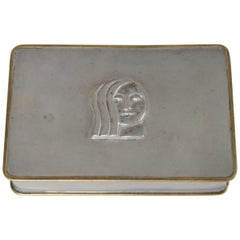 Anna Petrus, Pewter Box, Firma Svenskt Tenn, 1928