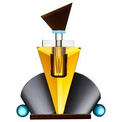 Hamilton Perfume Flacon Hand Cut Crystal Flacon Created to Evoke Vintage Boudoir