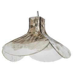 Murano Glass Chandelier Designed by Kaiser, Germany, 1960s