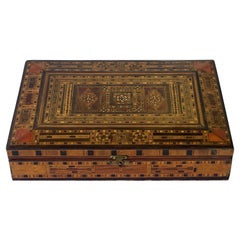 Anglo Indian Inlaid Letter Box