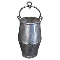 Industrial Riveted Hanging Metal Well Bucket
