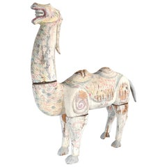 Chinese Ancient Hand Carved Bactrian Camel