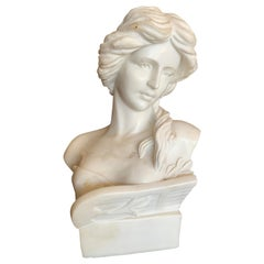 1900's Carrara Marble Statue from France