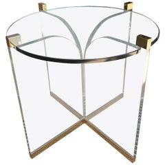 """""""Fleur-de-Lis"""" Center Table by Charles Hollis Jones, Signed"""