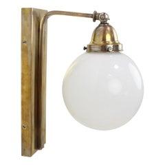 Art Deco Adjustable Wall Lamp, 1930's