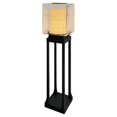 Shoji Floor Lamp André Fu Living Art Déco Garden Brass Bronze Metal Crystal New