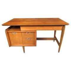 Mid-Century Modern Walnut Writing Desk by Mainline