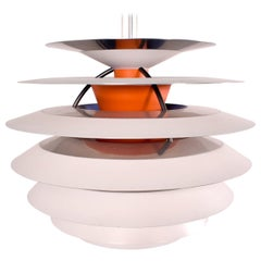 Poul Henningsen PH Snowball Kontrast Pendant Lamp by Louis Poulsen