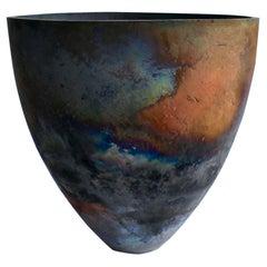 Sculptural Ceramic Vas Handmade by Tomonari Hashimoto