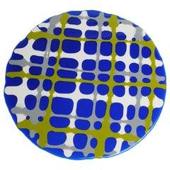 Tartan Placemats in Blue, Matt Grey, Green, White by Paola Navone