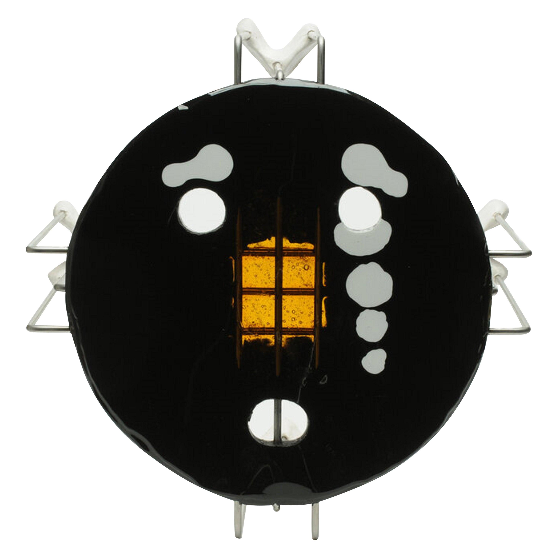 Single Size L Medium Triple Play Coffee Table in Black by Gaetano Pesce