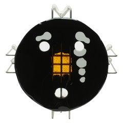 Single Size XL Medium Triple Play Coffee Table in Black by Gaetano Pesce