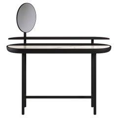 Apollo Contemporary Desk in Marble and Wood by Artefatto Design Studio