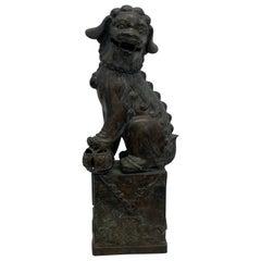 Maitland Smith Bronze Foo Dog