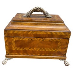 Inlaid Marquetry Wood Box