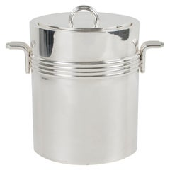 Christian Dior Silver Plate Ice Bucket Cooler
