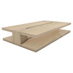 Oak Amarante Low Table by LK Edition