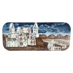Piero Fornasetti House of Cards Tray