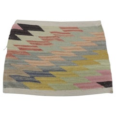 Pastel Color Vintage Textile Fragment