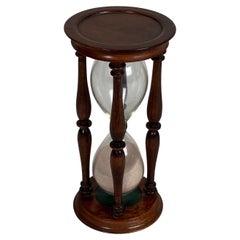 Victorian Treen Hourglass Timer