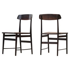 Set of 'Lucio' Chairs by Sergio Rodrigues, Rosewood, Brazilian Midcentury Design