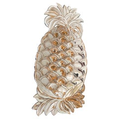 Silver Plate Pineapple Hors d' Oeuvre Serving Plate