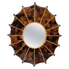 R & Y Augousti Tessellated Shell Mirror