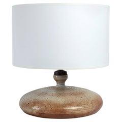 French Stoneware Ceramic Lamp by Gres du Marais, 1960s