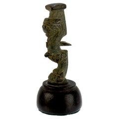 Ancient Roman Bronze Leg or Artifact / Element
