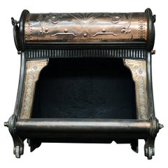 An Unusual Hooded Firegrate