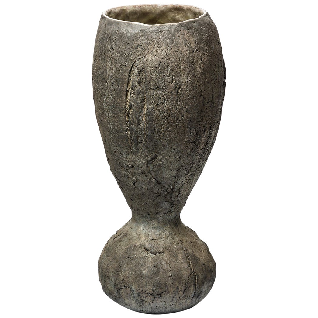Ceramic Vase by Gisele Buthod-Garçon, circa 2005