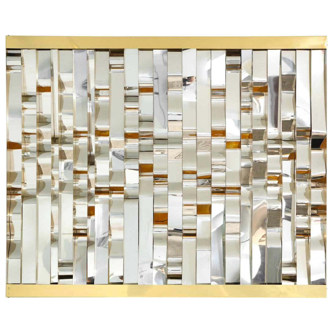 Sculptural Wall Panel by Curtis Jere