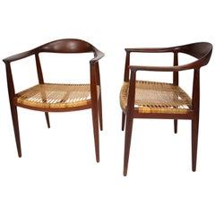 Hans J Wegner Pair of Chairs