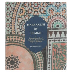 Marrakesh by Design Decorative Softcover Book