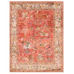 Antique Perisan Tabriz Silk