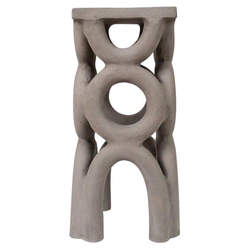 Unique Arch Square Stool by Mesut Öztürk