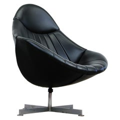 Rudolf Wolf Skai Lounge Chairs for Rohé, 1960's