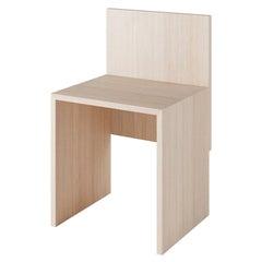 Solid Wood Slab Chair