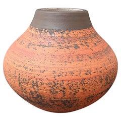 Vintage European Earthenware Vase 'circa 1970s'