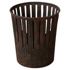 Erie Art Metal Co. Waste Basket