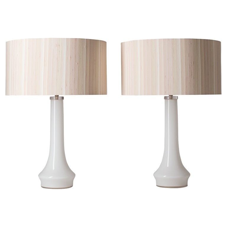 Pair of Vistosi Table Lamps, 1960s For Sale