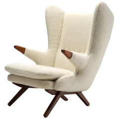 """Svend Skipper """"Model 91"""" Easy Chair for Skippers Møbler, Denmark 1960s"""