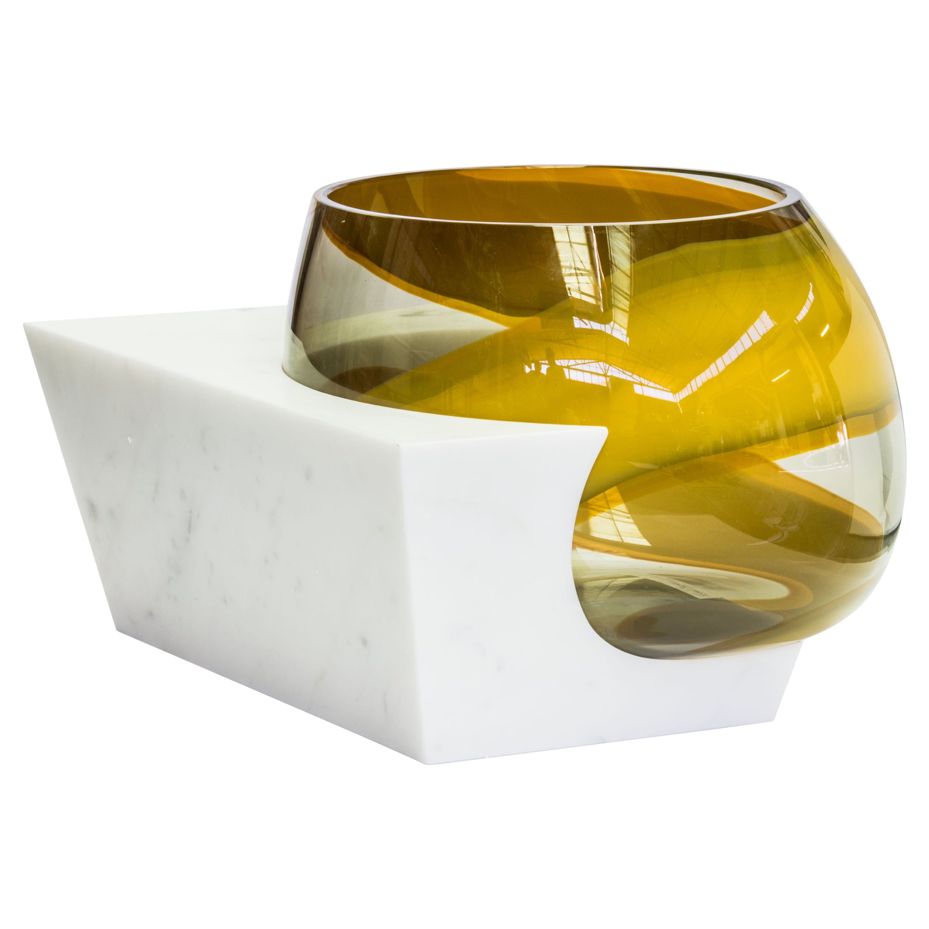 OSMOSI Artist Proof Glass and Marble Sculpture by Emmanuel Babled for Venini