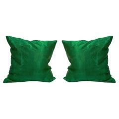 Tribal Green Pillow