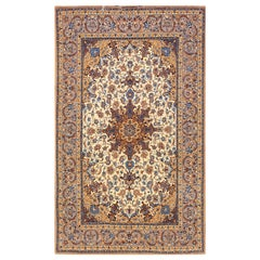 Antique Isfahan, Silk Rugs