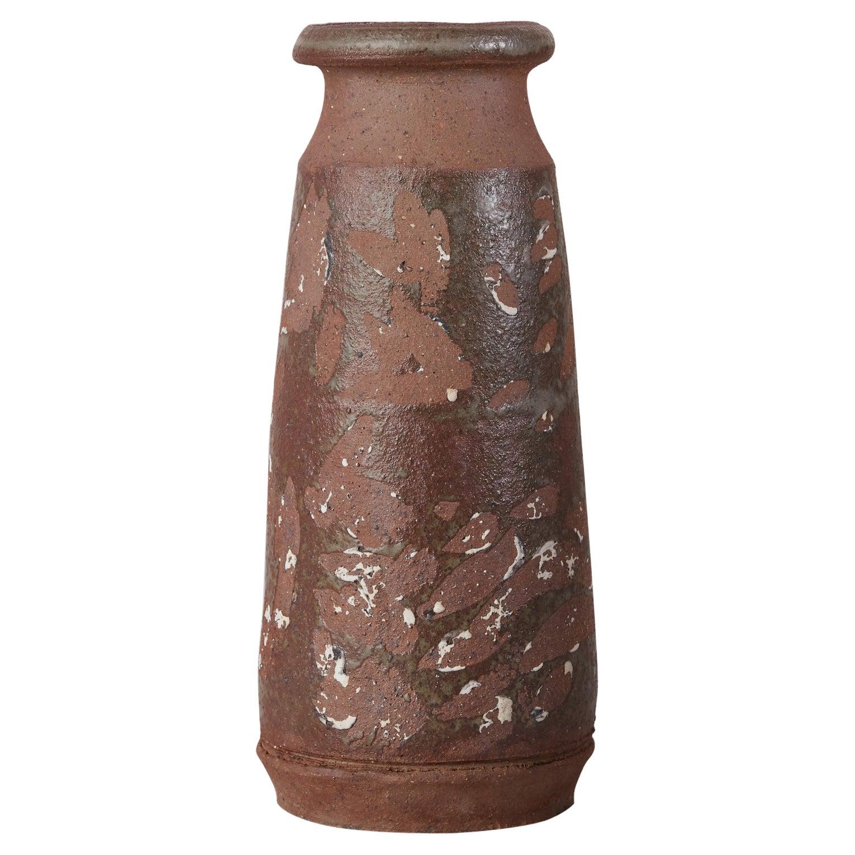 Studio Ceramic Stoneware Vase