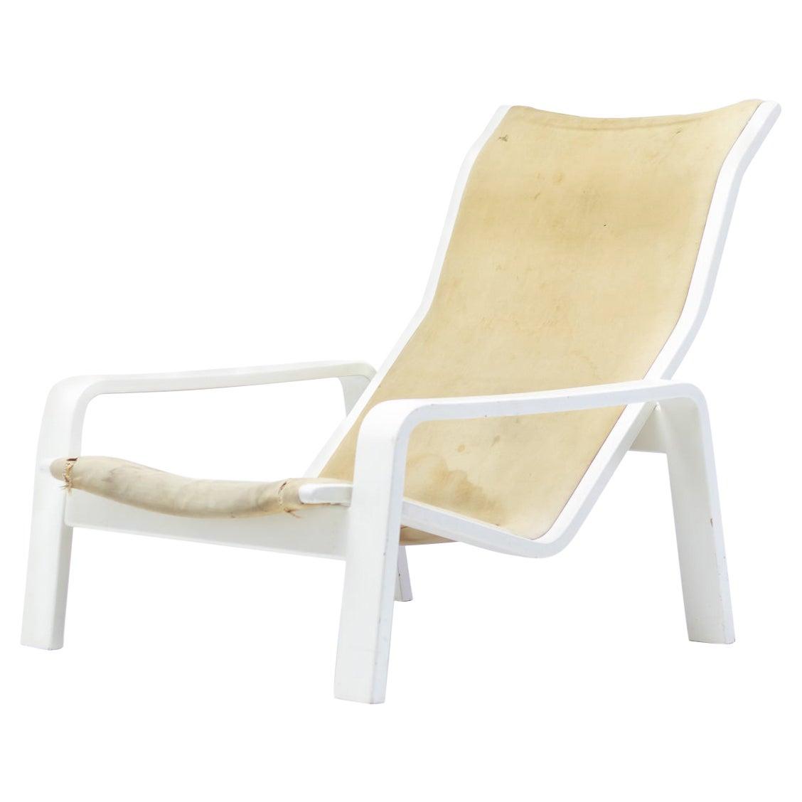 Pulkka Lounge Chair by Ilmari Lappalainen for Asko