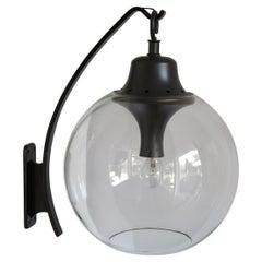 Luigi Caccia Dominioni for Azucena Italian Glass Sconce Wall Lamp 1950s