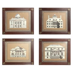 Neoclassical Architectural Drawings for John Rosselli